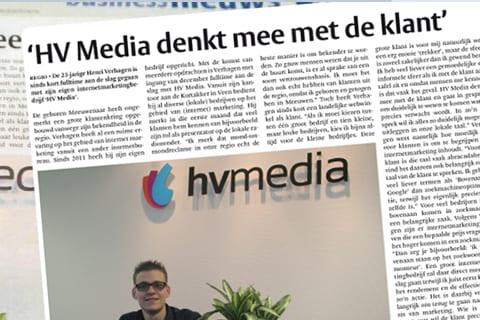 """Het Kontakt:""""HV Media denkt mee met de klant"""""""