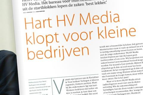 Rabobank Dichterbij over start HV Media