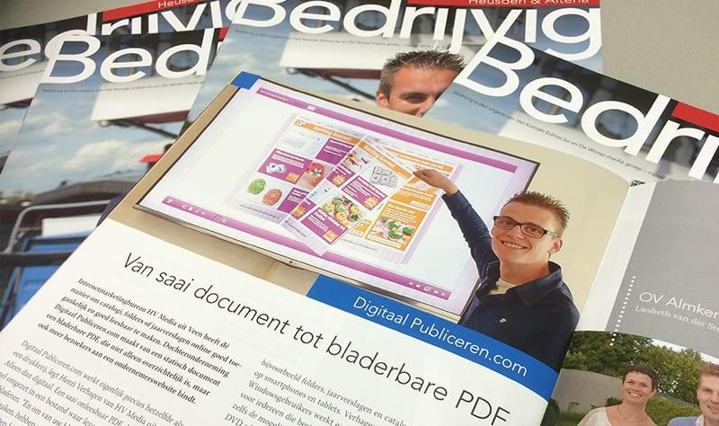 Bedrijvig over onze bladerbare PDF mogelijkheden